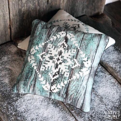 """Cushion cover """"Snowflake"""""""