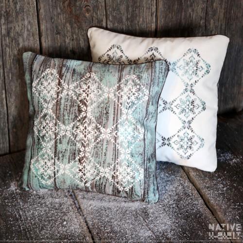 """Cushion cover """"Snowflackes"""""""