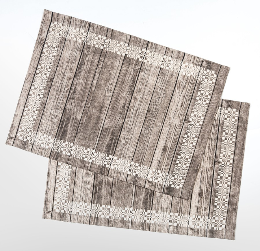 """Placemats """"Wooden"""" (2 psc.)"""