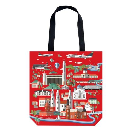 "07. Handbag ""Kaunas places"""