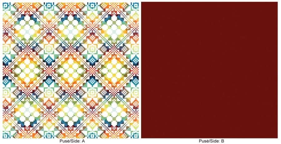 "Cushion cover ""Colors II"""